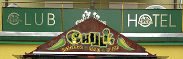 Website of Hotel Chillis (made by kimhauser.ch)